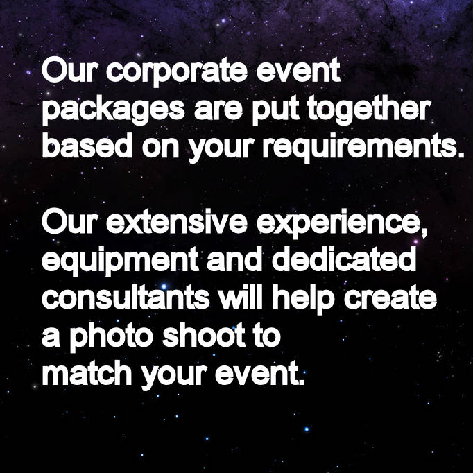 Green screen corporate event